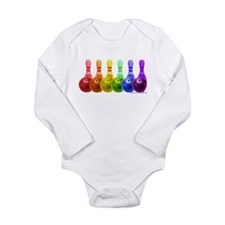Rainbowling Long Sleeve Infant Bodysuit