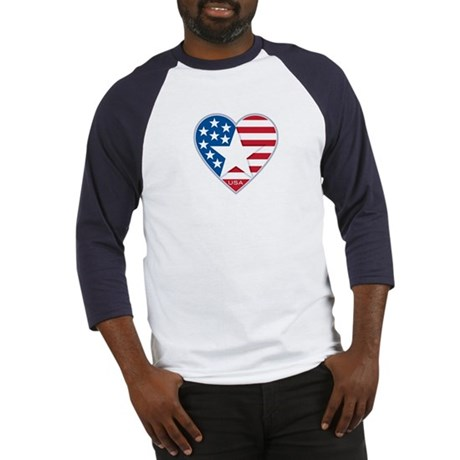 Heart Star USA: Baseball Jersey
