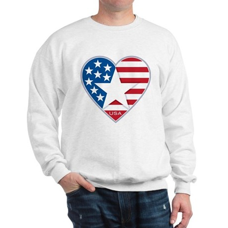 Heart Star USA: Sweatshirt