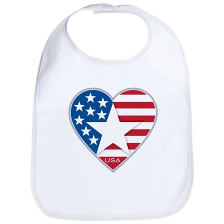 Heart Star USA: Bib