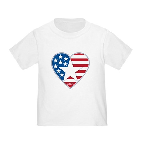 Heart Star USA: Toddler T-Shirt