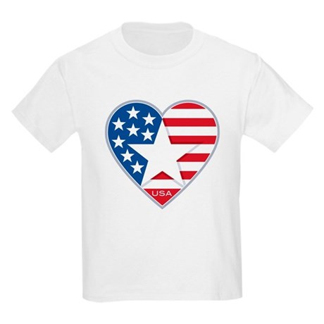 Heart Star USA: Kids T-Shirt