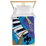 Jazz Music Twin Duvet