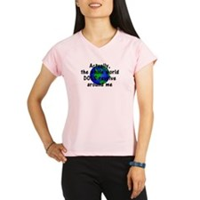 World Revolves Around Me Performance Dry T-Shirt