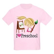 I Heart Preschool T-Shirt