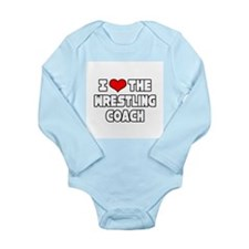 Unique Funny support Long Sleeve Infant Bodysuit
