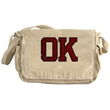 OK, Vintage Messenger Bag