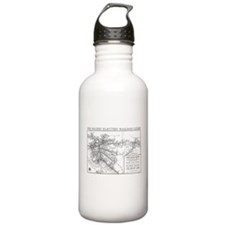 Pacific Electric Map Water Bottle