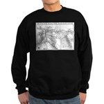 Pacific Electric Map Sweatshirt (dark)