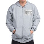 Pacific Electric Map Zip Hoodie