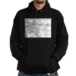 Pacific Electric Map Hoodie (dark)