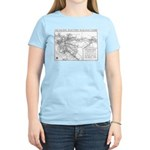 Pacific Electric Map Women's Light T-Shirt