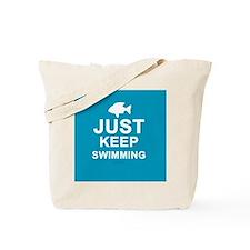 Keep Swimming Tote Bag