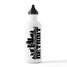 Detroit Skyline Sports Water Bottle
