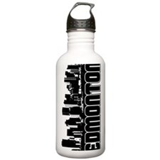 Edmonton Skyline Water Bottle