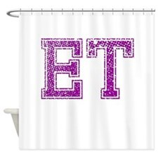 ET, Vintage Shower Curtain