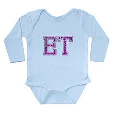 ET, Vintage Long Sleeve Infant Bodysuit