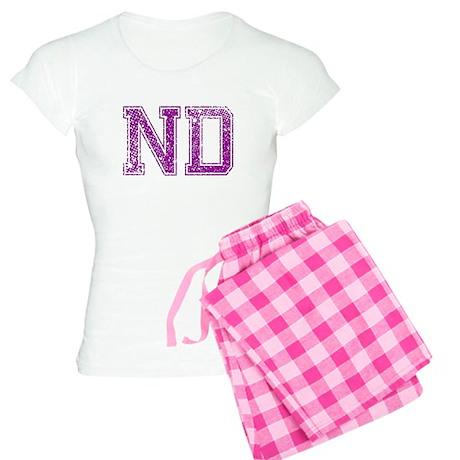ND, Vintage Women's Light Pajamas