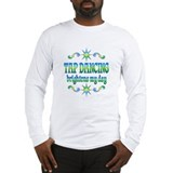 Tap Dancing Brightens Long Sleeve T-Shirt