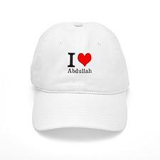 I Heart Abdullah Baseball Cap
