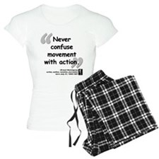 Hemingway Action Quote Pajamas