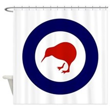 New Zealand Roundel Shower Curtain