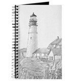 Maine Lighthouse Drawing Journal