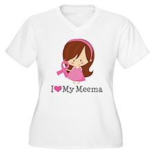 Meema Breast Cancer Support T-Shirt