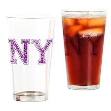 NY, Vintage Drinking Glass