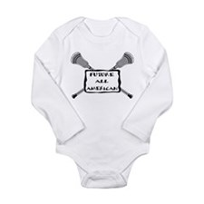 Funny Attacking Long Sleeve Infant Bodysuit