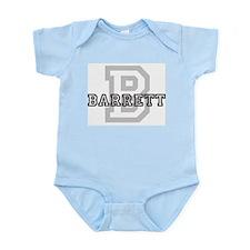 Barrett (Big Letter) Infant Creeper