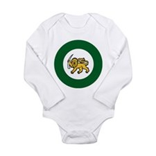 Rhodesia Roundel Long Sleeve Infant Bodysuit