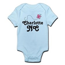 Charlotte North Carolina Infant Bodysuit