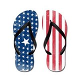 Unique 4th of july Flip Flops