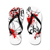 33SICKS FTC Splatter Flops