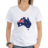 Flag Map of Australia Shirt