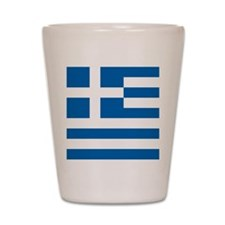 Greece Flag Shot Glass