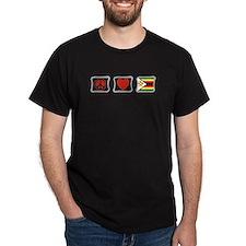 Peace Love and Zimbabwe T-Shirt