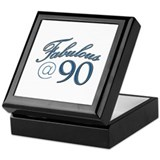 Fabulous at 90 Keepsake Box