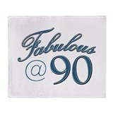 Fabulous at 90 Throw Blanket