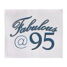 Fabulous at 95 Throw Blanket