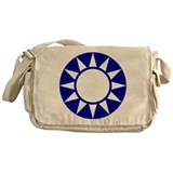 Taiwan Roundel Messenger Bag