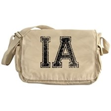 IA, Vintage Messenger Bag