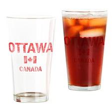 Ottawa Canada Designs Drinking Glass