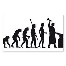 evolution blacksmith Decal