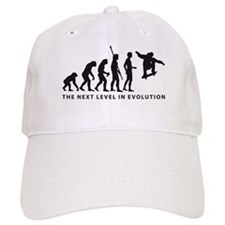 evolution skater Baseball Cap