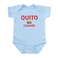 Quito Ecuador Designs Infant Bodysuit
