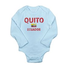 Quito Ecuador Designs Long Sleeve Infant Bodysuit