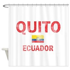 Quito Ecuador Designs Shower Curtain