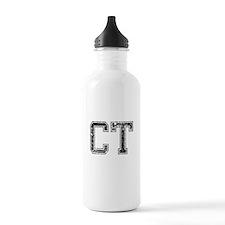 CT, Vintage Water Bottle